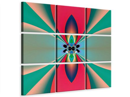 leinwandbild 9 teilig psychedelic art leinwandbilder leinwand bilder in sepia bestellen foto selbst gestalten