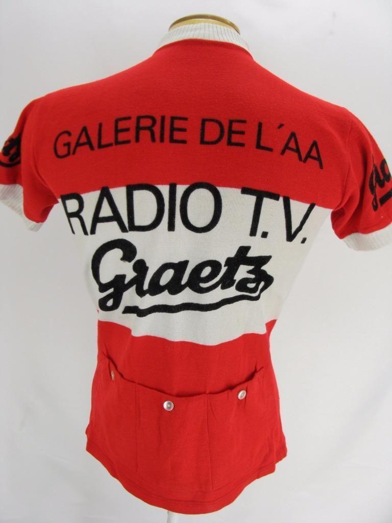 eabb04e0b Mens Vintage Knit Radio TV Gaetz Mey Sport Racing Cycling Bike Jersey  Sweater M Cycling Art