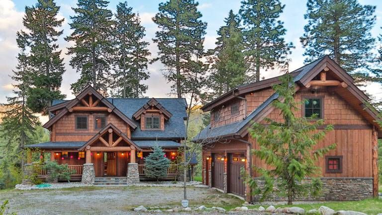 Simple Design In A Washington Timber Home Timber Frame Home Plans Timber Frame Homes Timber House