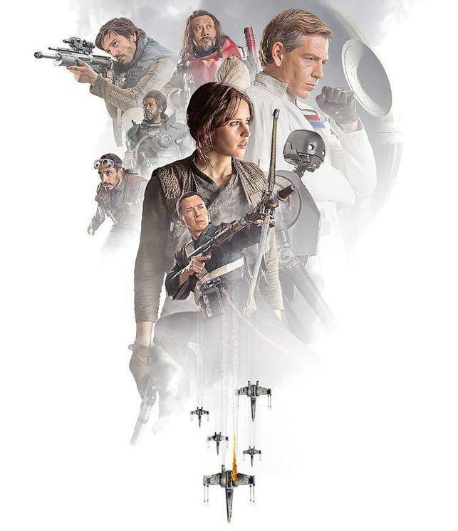 'Rogue One' un refrito de todo lo que funciona en 'Star Wars'