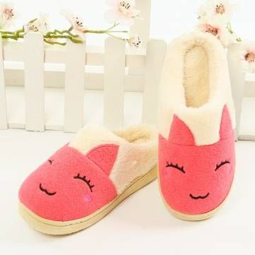 Comfortable Cute Rabbit Warm Indoor Flat Home Shoes - NewChic