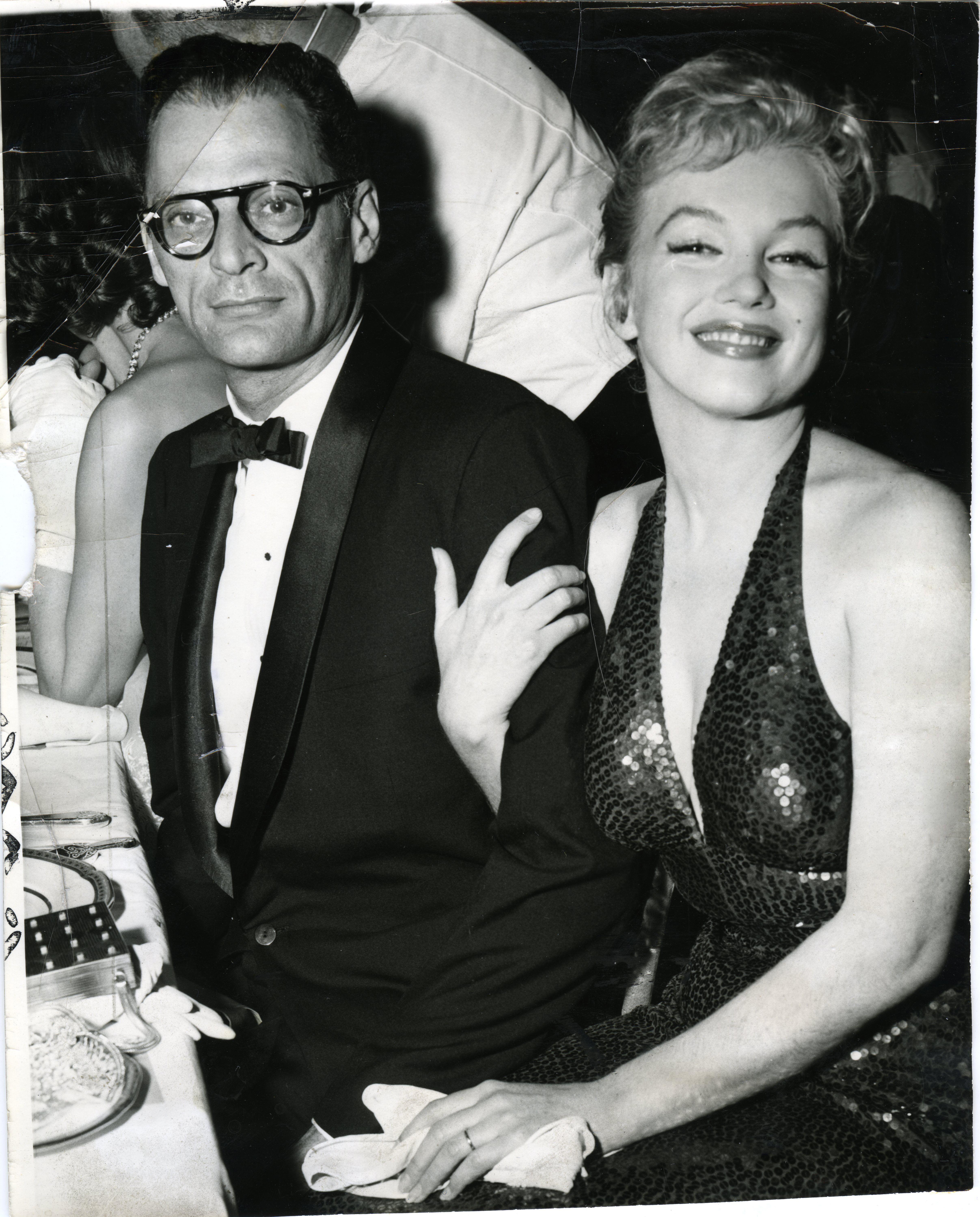 Marilyn Monroe And Arthur Miller Waldorf Astoria