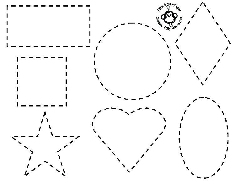 Grab Your New Coloring Pages Shapes Download Http Gethighit