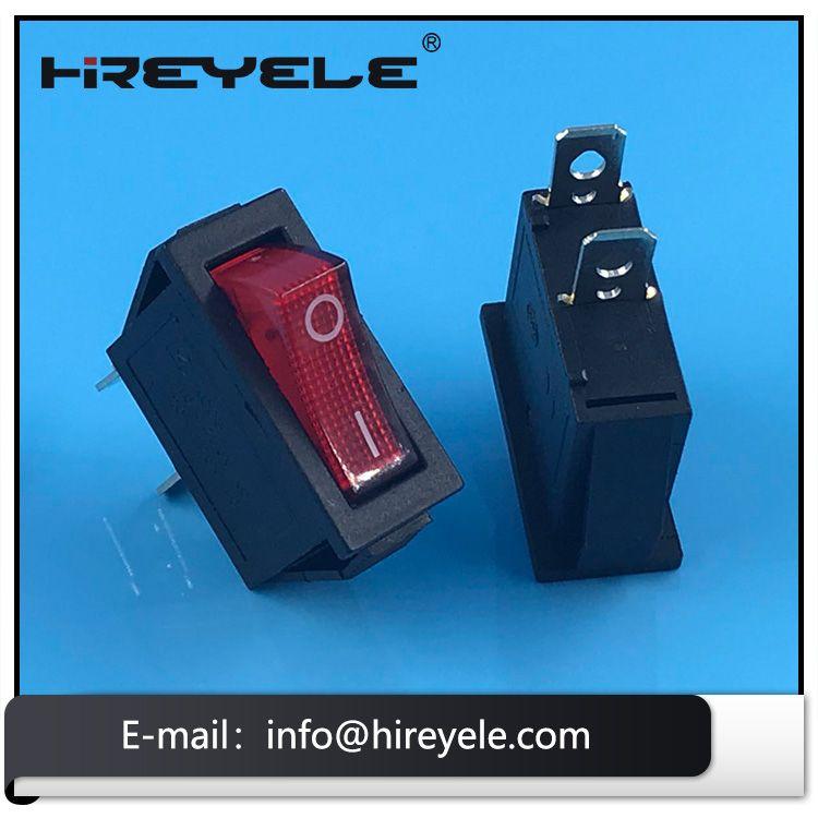 Mini 20a 125vac Spst Kcd3 Momentary Rocker Switch Switch Rocker Electronics Technology