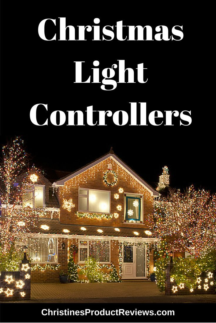 a light controller does just what the name says it controls the christmas lights