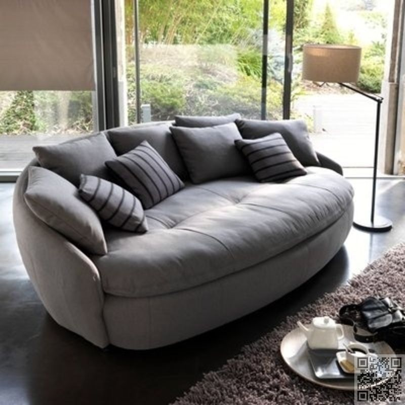 Oval Shape 25 Awesome Couches For Your Living Room Colored
