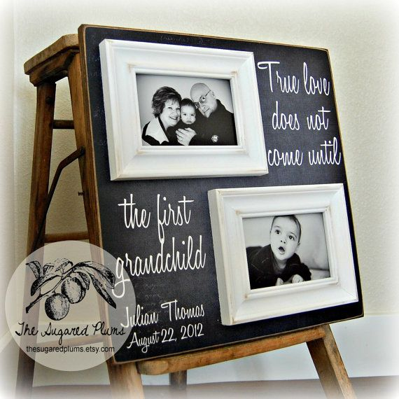 Gifts For Grandparents, Personalized Picture Frame Custom 16x16 ...