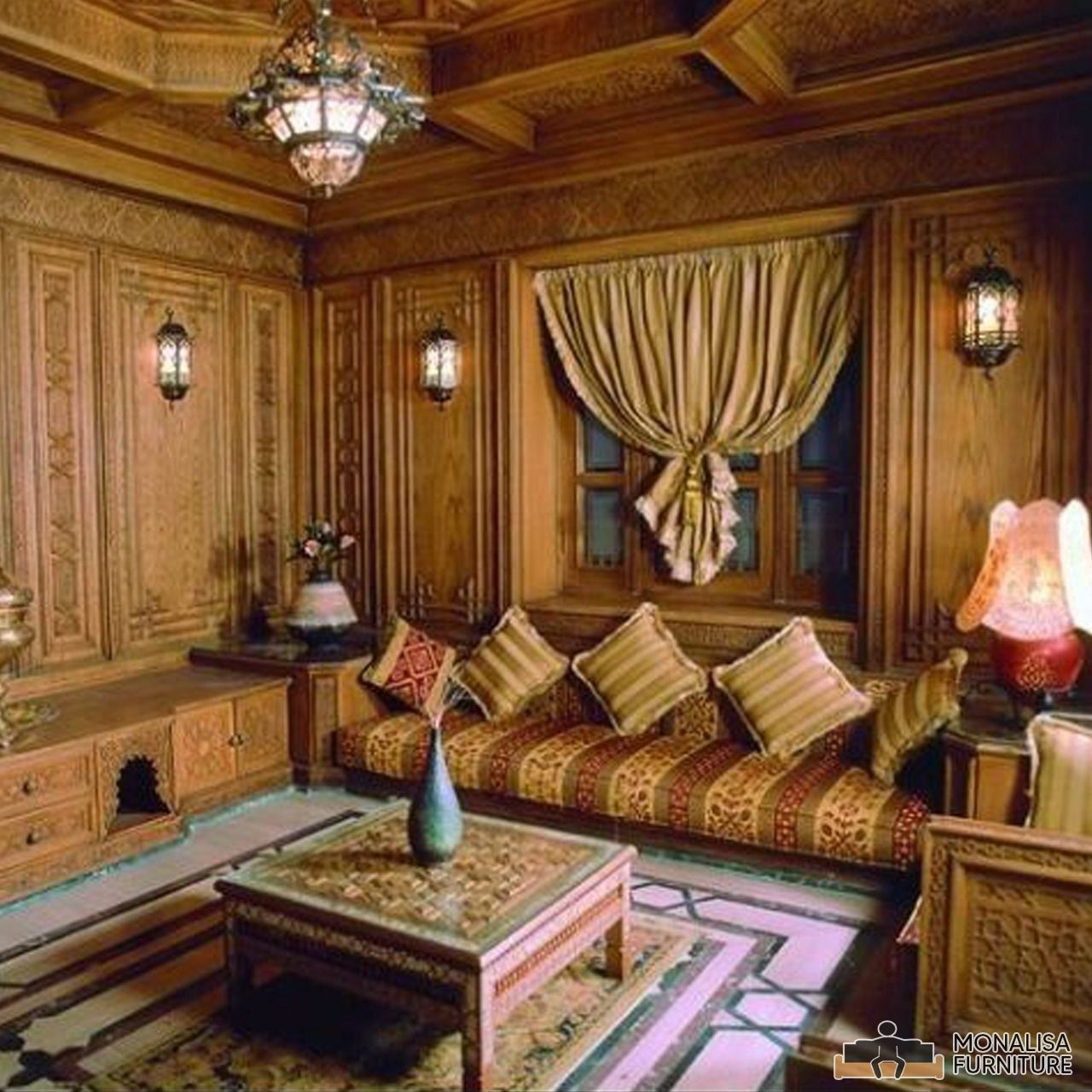 Arabic Style For A Living Room Love The Table Moroccan Living Room Table Decor Living Room Bedroom Design
