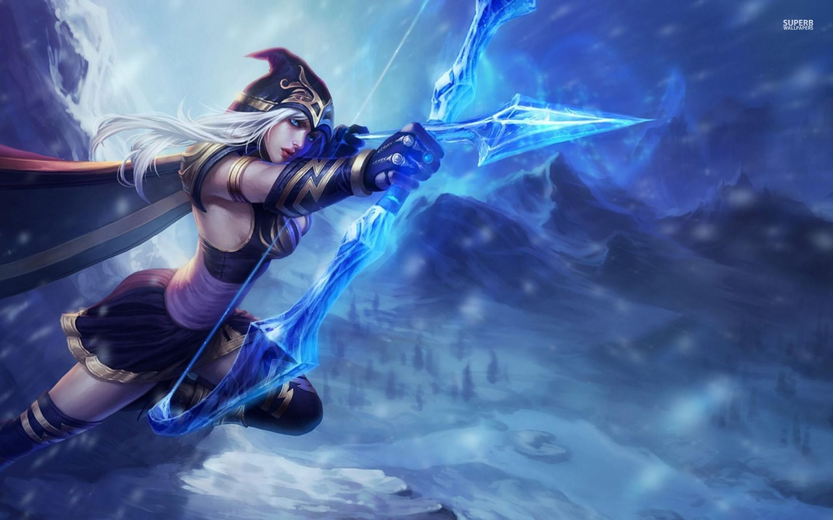 Ashe League Of Legends Wallpaper Ashe League Of Legends