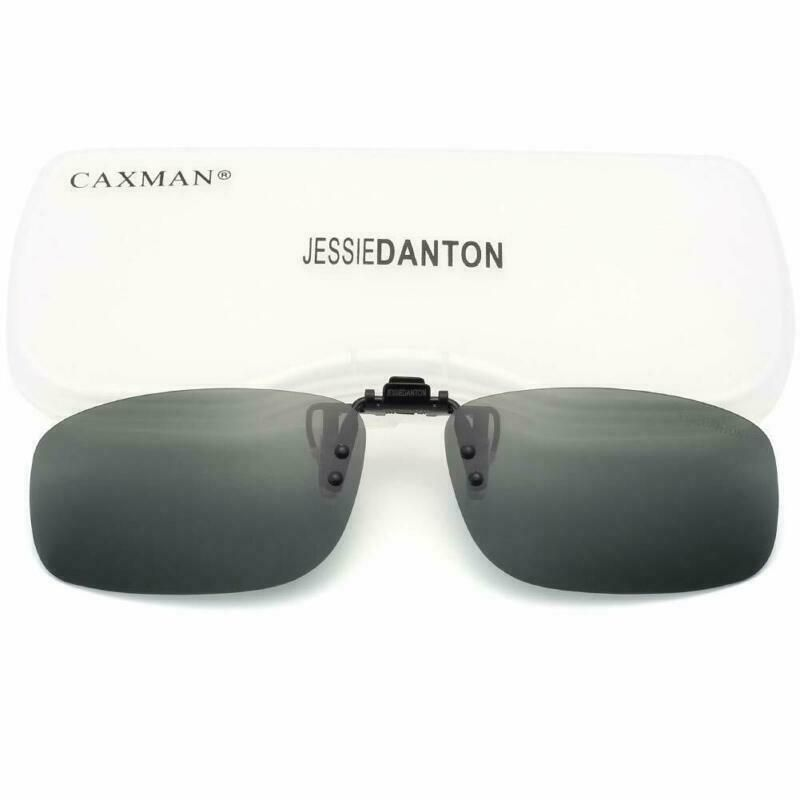 Glasses Sunglasses Caxman Over Prescription For On Clip Polarized 8v0OyNnwm