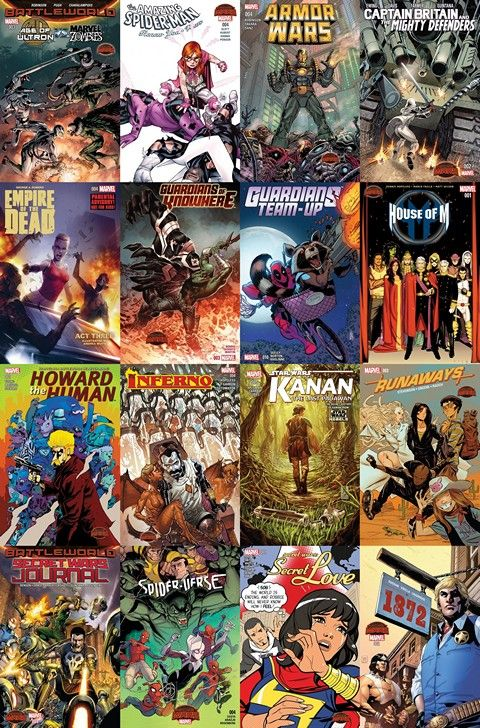 2015 08 19 Marvel Week+ – GetComics | Comics | Marvel, Comics, Free