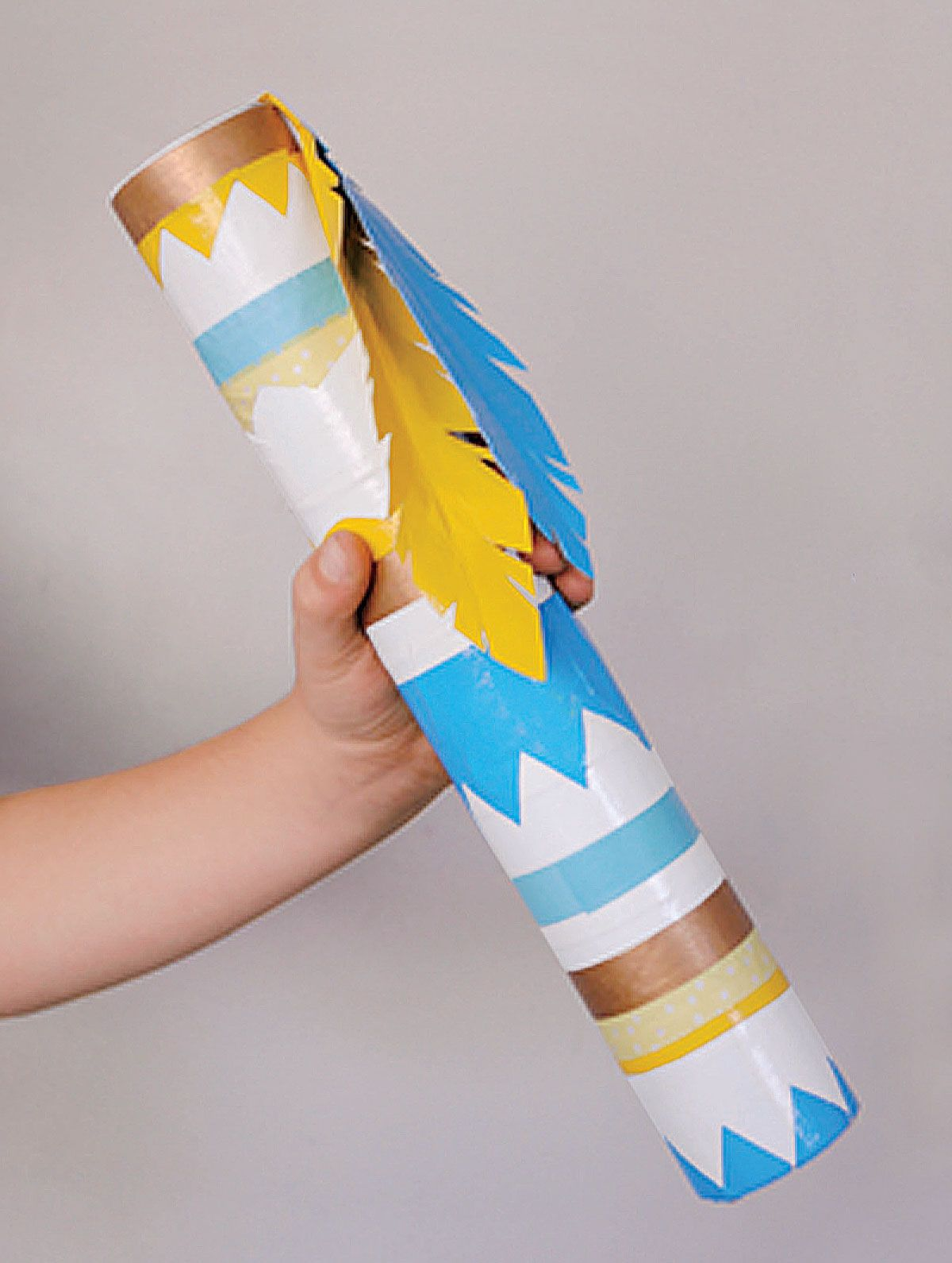 Preschool rain stick craft - Rain Stick Craft