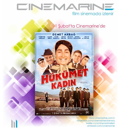 Hükümet Kadın 1 Şubat'ta Cinemarine'de. | Cinemarine 1 ... Hd Film Izle