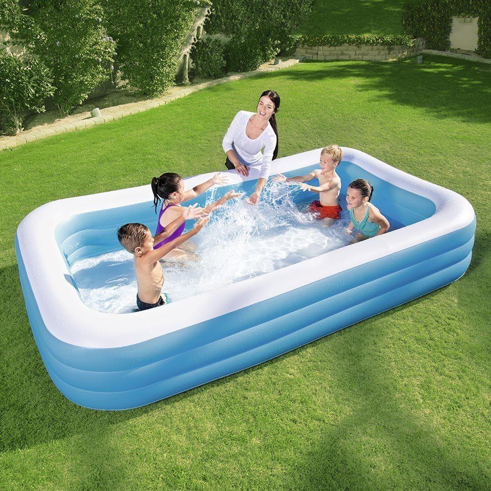 Bestway Deluxe Kiddie Pool Blue Children Swimming Pool Swimming Pool Stores Inflatable Swimming Pool