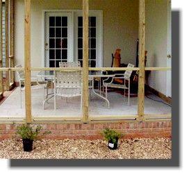 Fancy Deck Railing, Chippendale Pattern | Building a deck ...