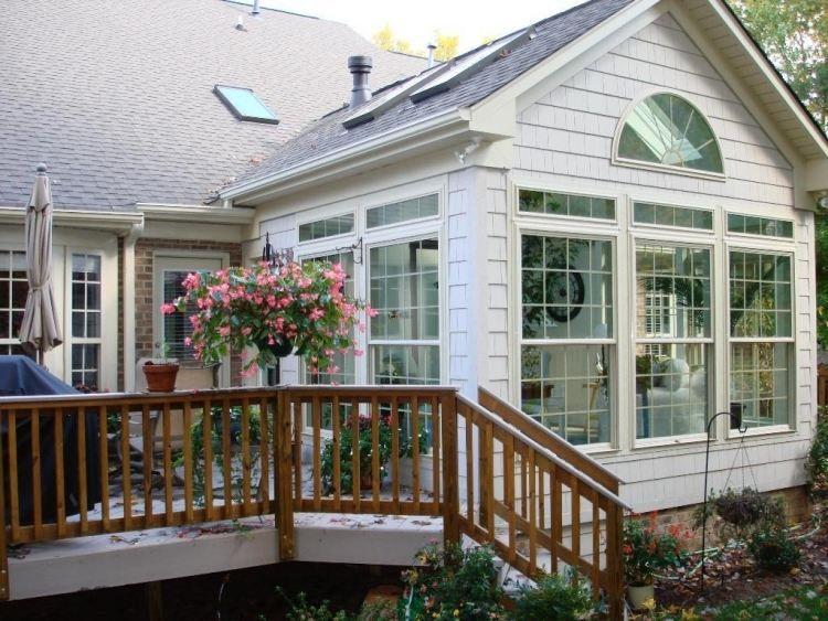 Schwedenhaus mit veranda  schönes Haus mit ein Teil Wintergarten, ein Teil Veranda und ...