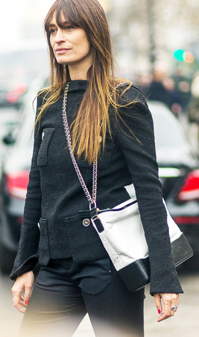 8d90aec182045c chanel handbags for women. Take a styling tip from Caroline de Maigret and  wear one strap over the shoulder and the other strap across the body.