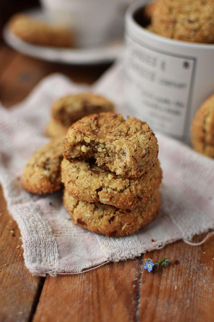 Mandel-Zimt-Kekse - Almond-Cinnamon-Sugar-Cookies #cinnamonsugarcookies