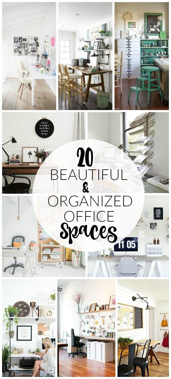 stylish office organization. 20 Incredibly Beautiful And Organized Office Spaces Stylish Organization