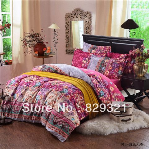 100 cotton brushed reactive printed christmas bedding sets queen