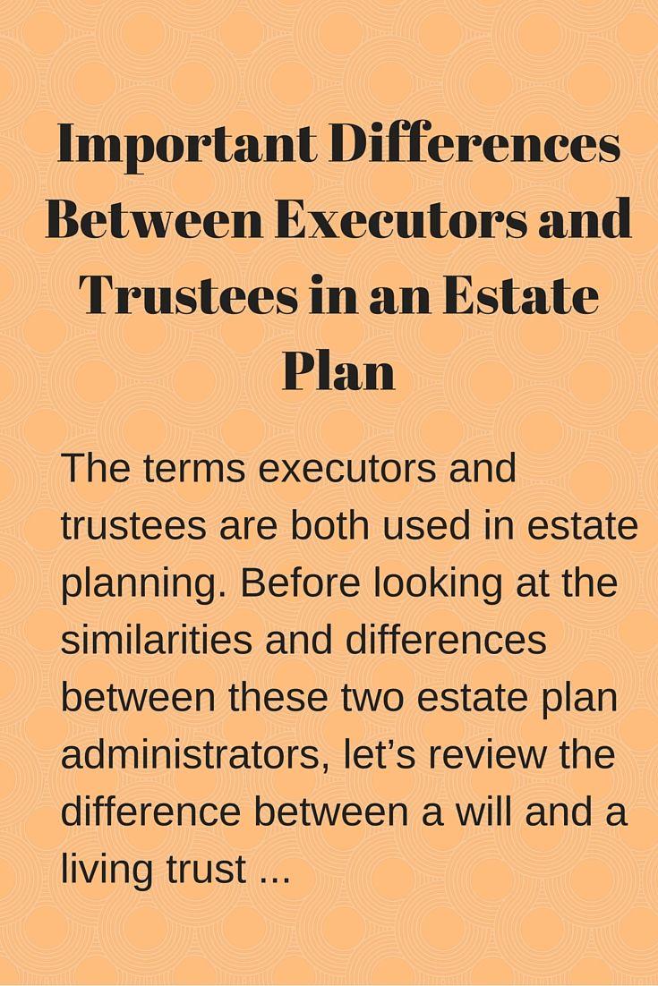 executor of trust dies