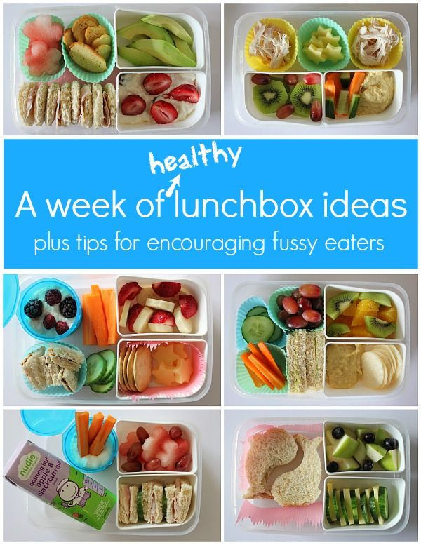 a week of healthy lunch ideas for kids one perfect day recipes food pinterest healthy. Black Bedroom Furniture Sets. Home Design Ideas