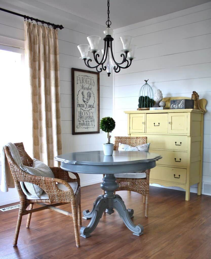 Creating a Durable Table Top Finish   Table, Country chic ...