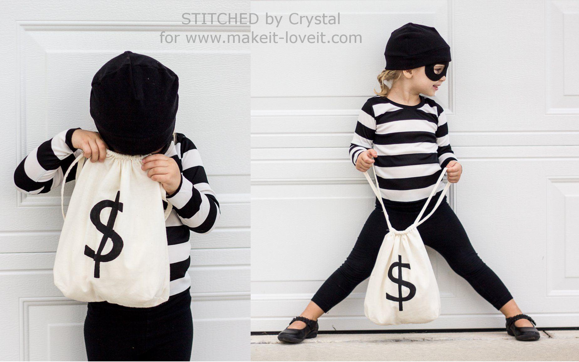 "last minute ""little bandit"" costume | halloween | pinterest"