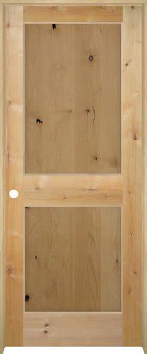Mastercraft knotty alder flat panel prehung interior door at menards also builder   choice in  arch top unfinished solid rh pinterest