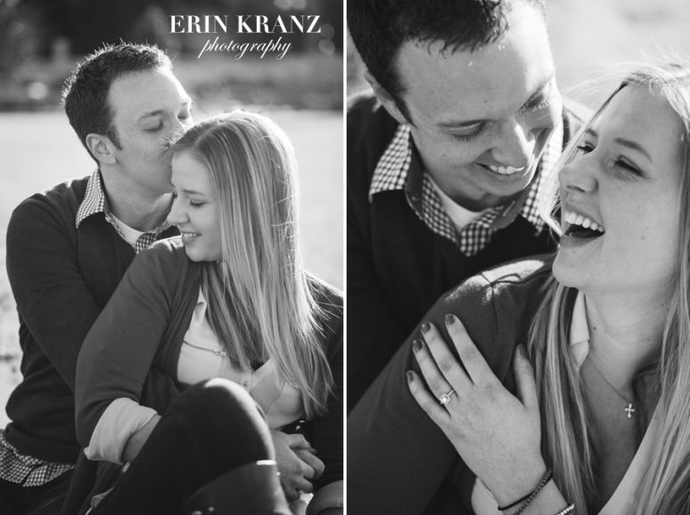 Sweet Uptown Charlotte engagement session - Charlotte wedding photographer - Charlotte engagement photographer - Lake Norman photographer - Erin Kranz Photography