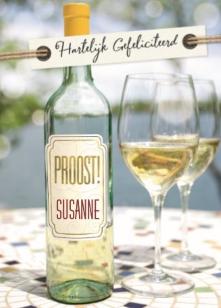 verjaardag vrouw wijn
