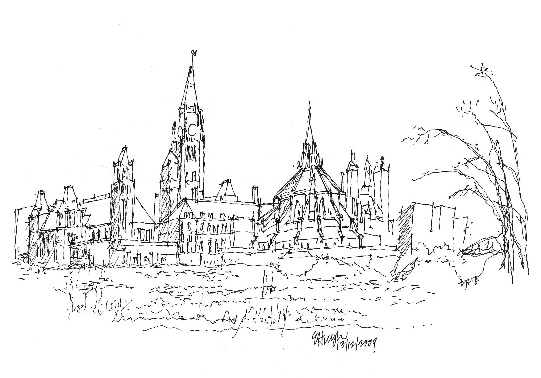 Parliament Hill Sketch