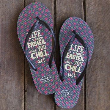 Chill Out Flip Flops