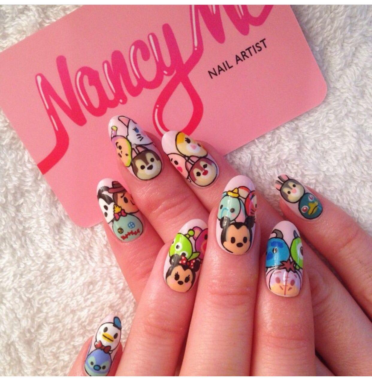 Pin by Lâm Vân on Nails | Pinterest | Disney nails, Disney nail ...