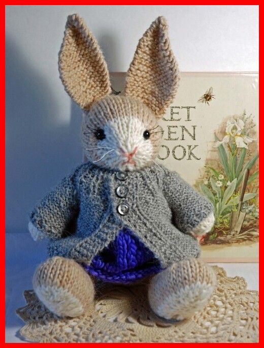 Francis the Easter Bunny – knitting Pattern