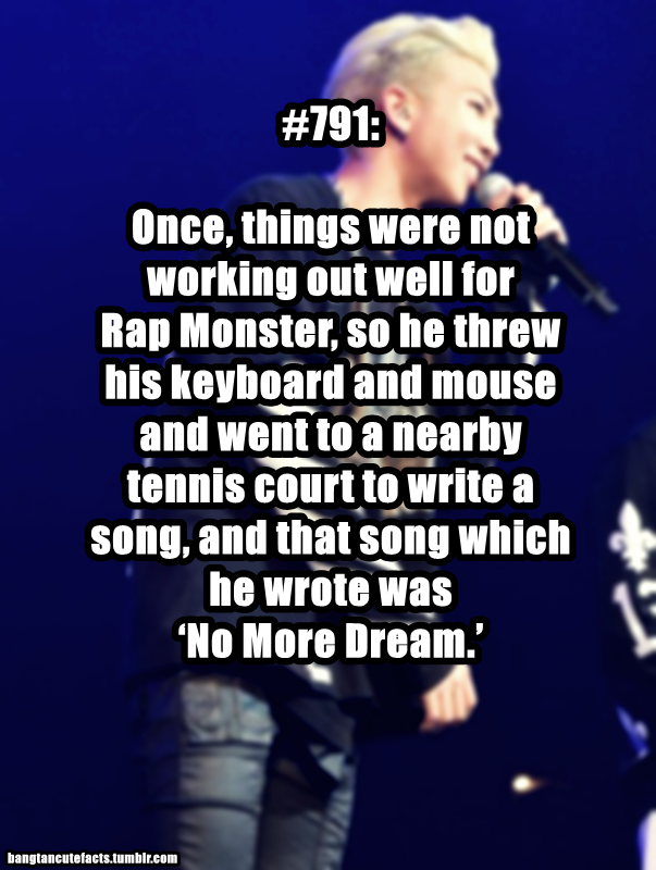 BTS RM | and that song was amazing. And still is amazing <3 these musical geniuses :3