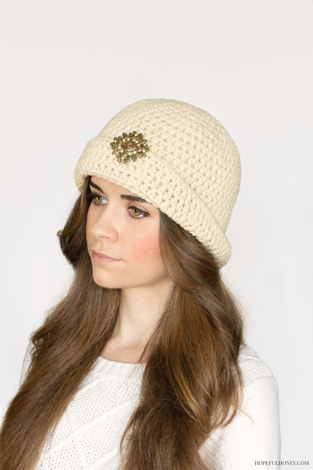 Great Gatsby Crochet Cloche Hat Pattern Knit Crochet Crochet