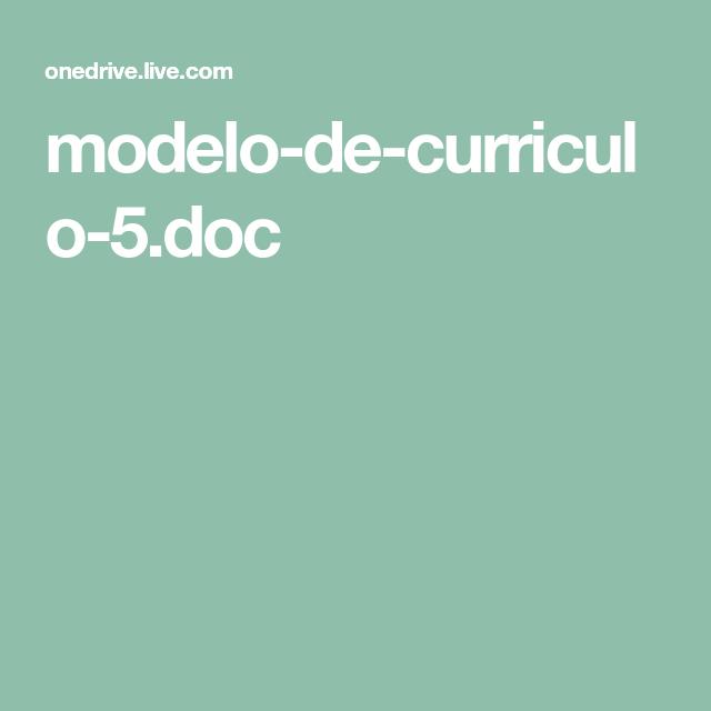 Modelos De Currículo, Baixar