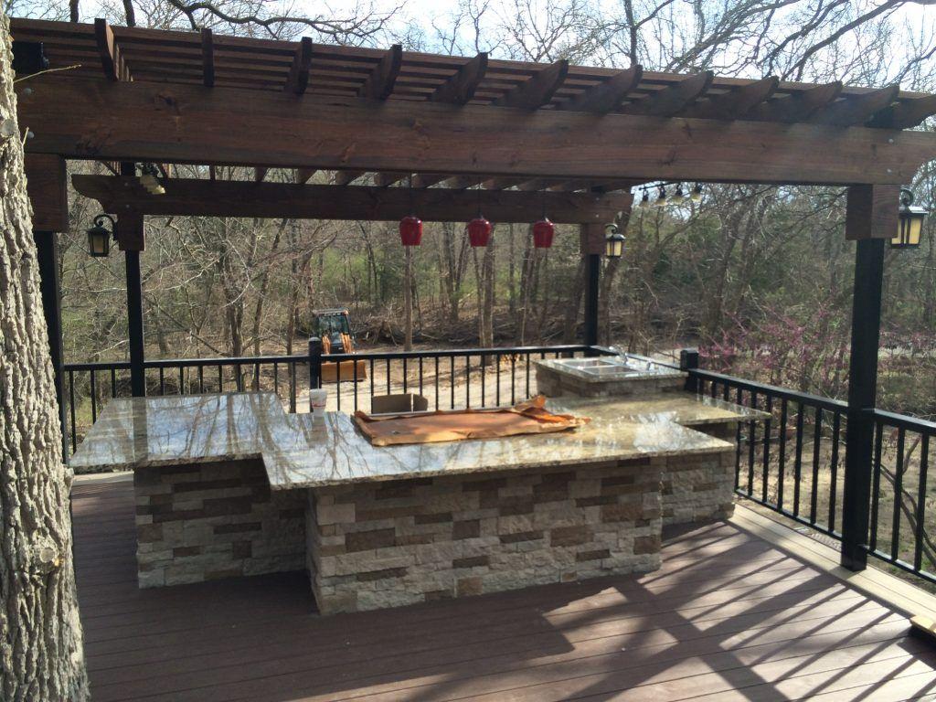 Decks And Outdoor Kitchens Outdoor Kitchen Outdoor Deck