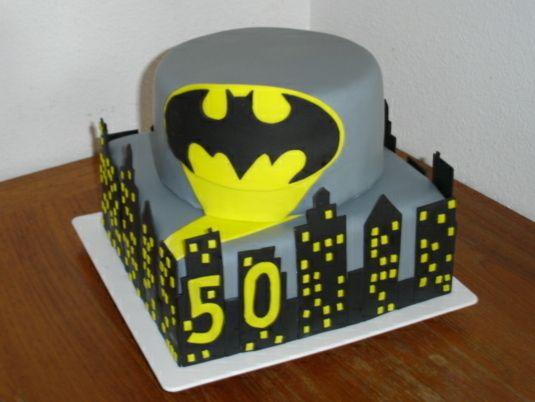 Batman Cake Tutorial Bakery ideas Pinterest Batman cakes Cake