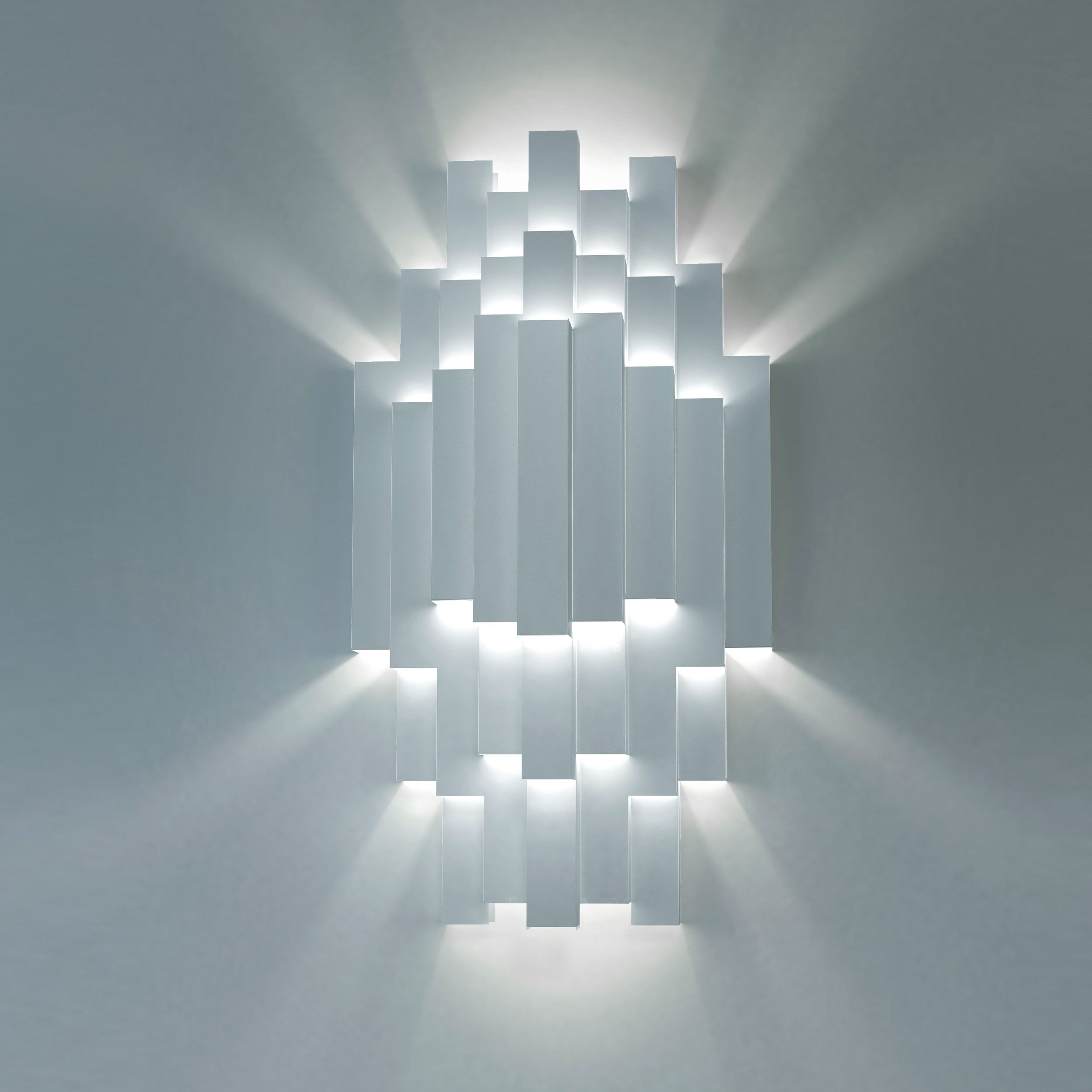 TMS 180 wall light from Strala. Handmade from metal sheet in a ...