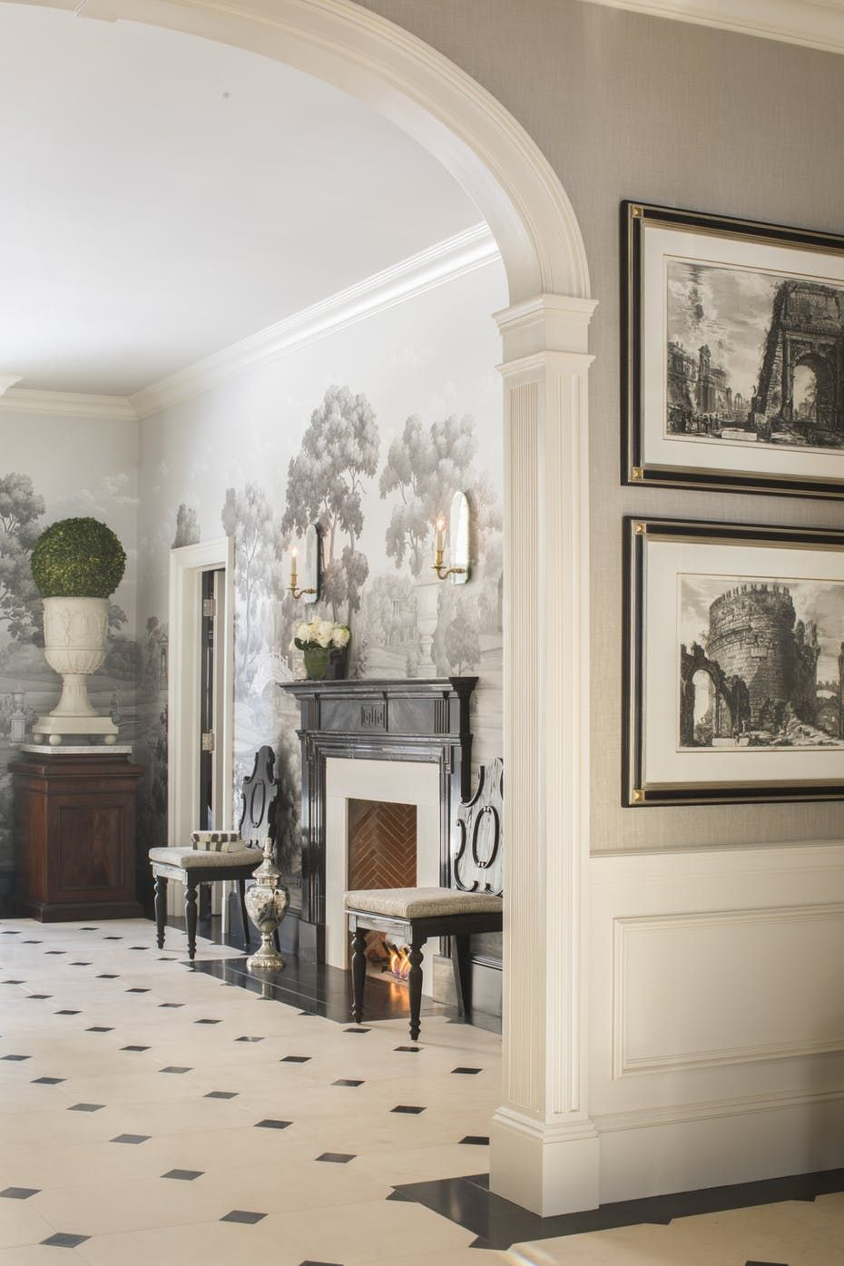Neoclassical Greenwich Estate by Rinfret Limited Interior ...