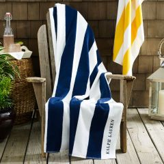 Cabana Striped Beach Towel Ralph Lauren Home Beach Towels