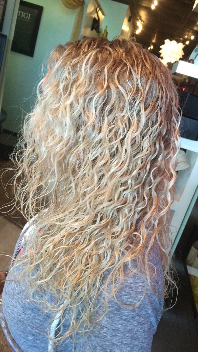 Tight Perm By Jordan Schubert Curls Blonde Permed
