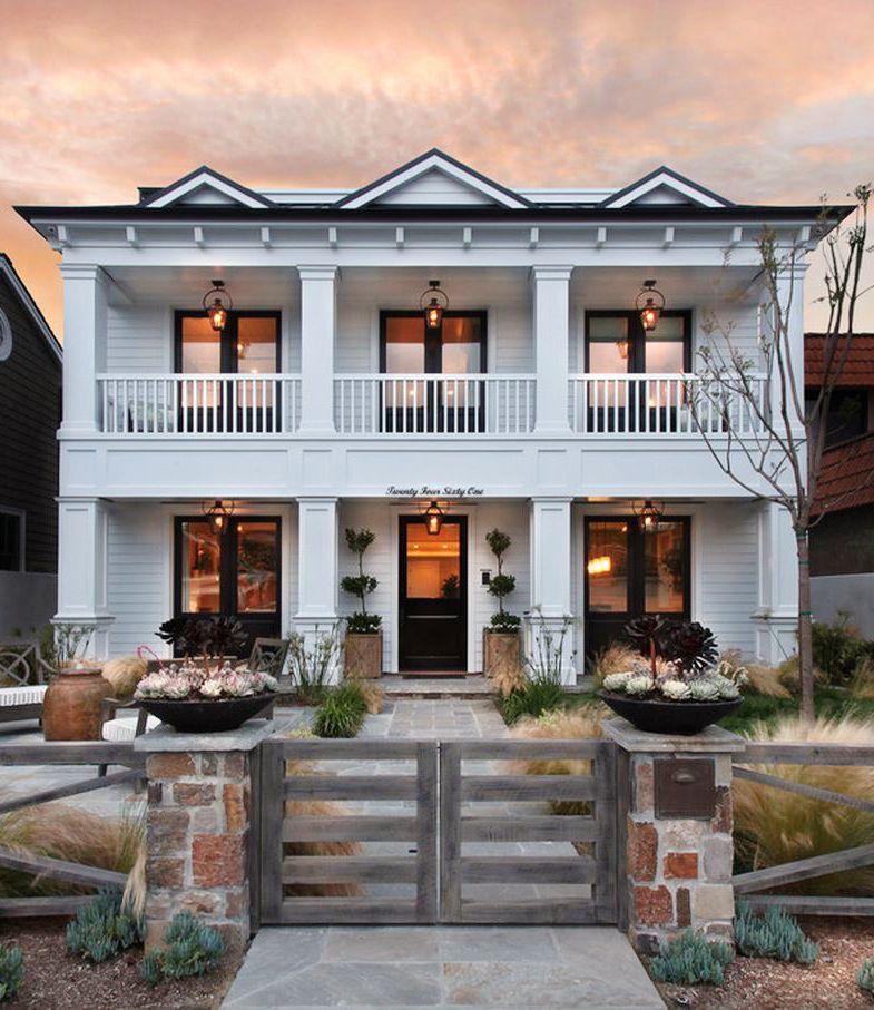 Beach Home Decor: Georgian Beach House, Newport Beach, CA Perfect Home