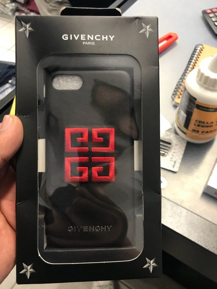 online store 315aa 61fda NEW! Givenchy Paris Star Logo Hard Cover Phone Case For iPhone 7/7+ ...