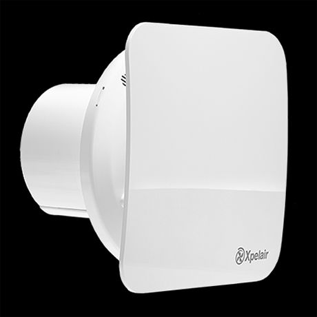 Xpelair C4ts Simply Silent 4 Square Bathroom Extractor Fan With Timer In 2020 Bathroom Extractor Extractor Fans Bathroom Store