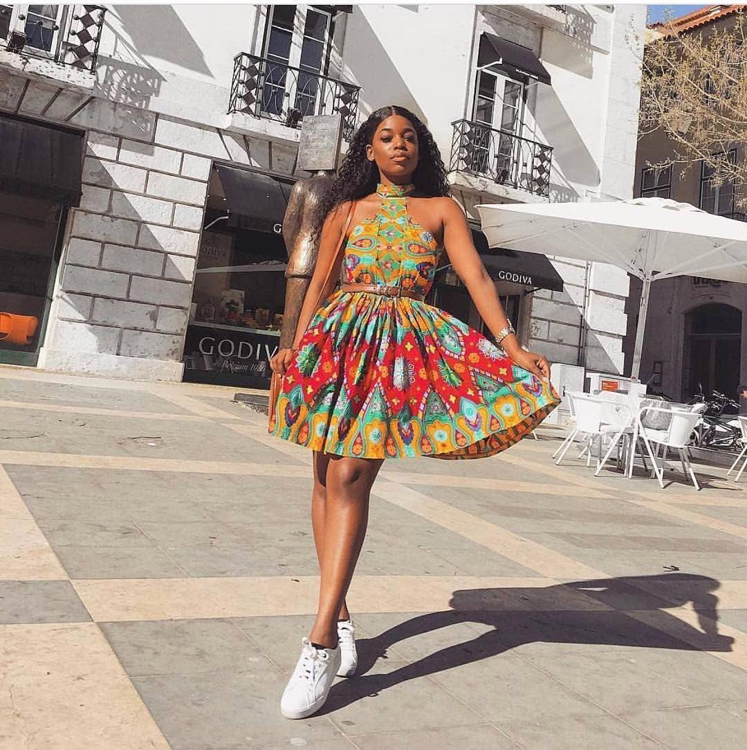 Ankara fashion inspiration these short ankara dresses will surely