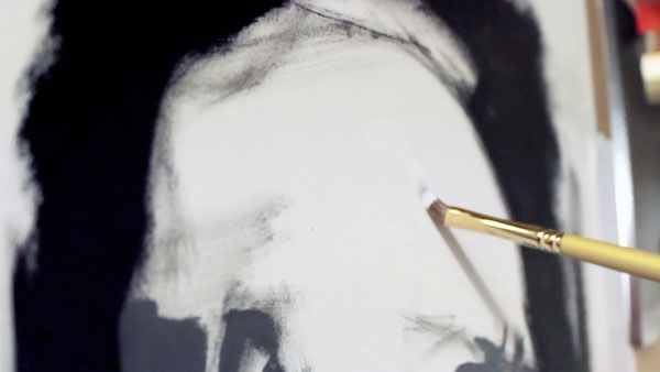 Painting the Portrait: The Grisaille Method in Oils Step 6: Key the Painting
