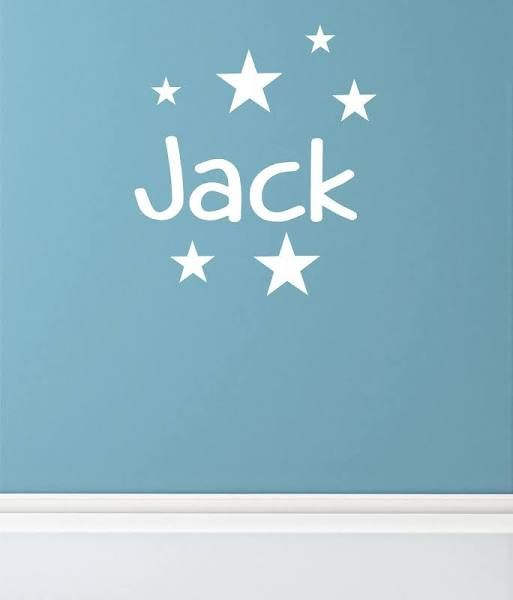 Name Wall Sticker Jacks Sunny New Room Pinterest Wall Sticker